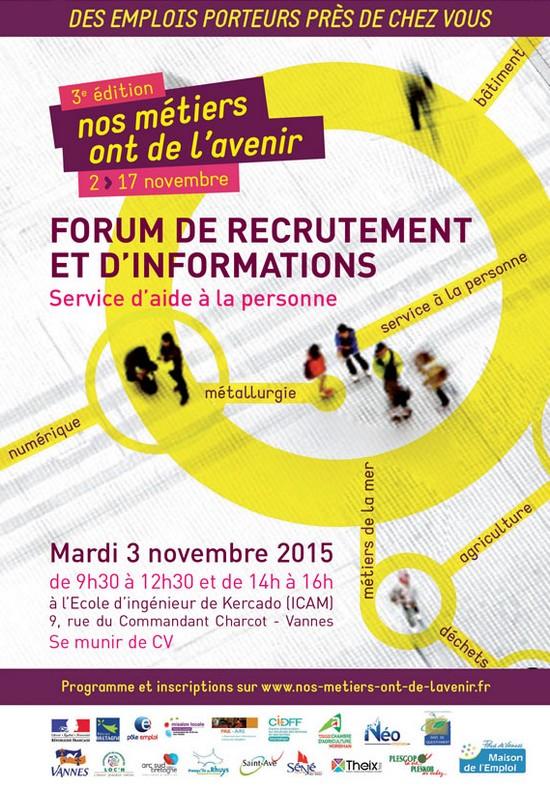 Forum recrutement de service a la personne vannes 56 novembre 2015 radio korrigans - Cabinet de recrutement vannes ...