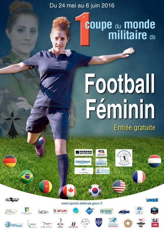 Championnat du monde militaires de football feminin - Coupe du monde de football feminin ...